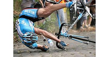 Ошибки при езде на велосипеде