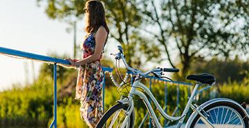 Как грамотно выбрать велосипед для девушки