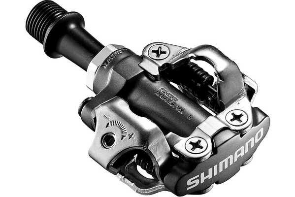 Педали контактные Shimano SPD PD-M540, с шипами