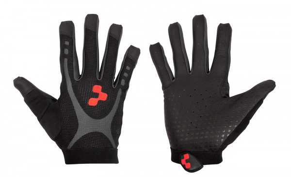 Велоперчатки Cube GLOVES RACE TOUCH L/F  black/anthracite