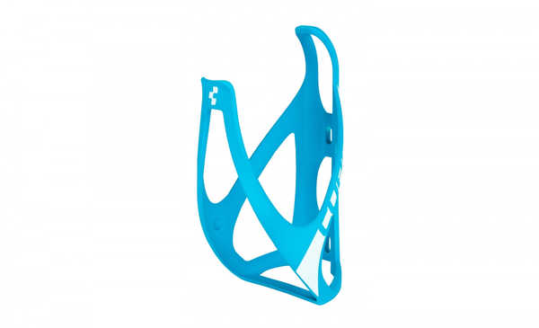 Флягодержатель CUBE BOTTLE CAGE HPP matt blue/white
