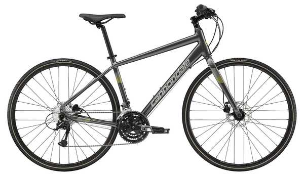 Cannondale Quick 5 Disc (Charcoal/Sage Gray) 2019