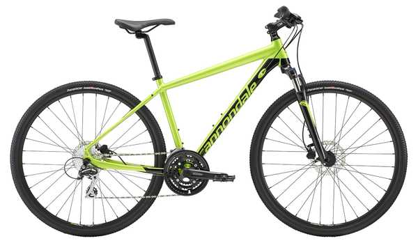 Cannondale QUICK CX 4 (Acid Green/Black) 2019