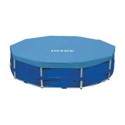 Тент-чехол для каркасных бассейнов Intex 457 см