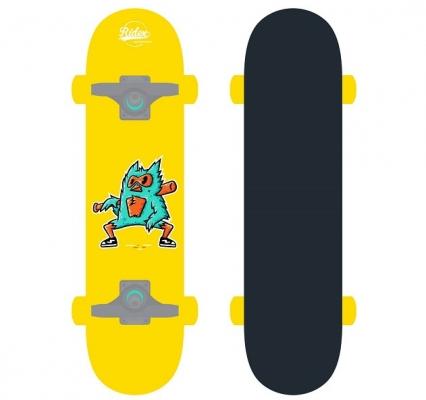 Скейтборд RIDEX Birdie 28″X8″