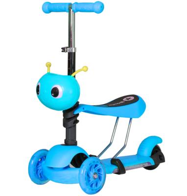 Самокат Ausini 4109B 3 в 1 (синий)