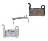Дисковые тормозные колодки Force SH M07, железная основа, полимерная смесь