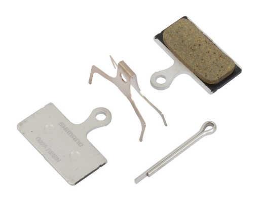 Колодки тормозные Shimano G02A для дисковых тормозов, полимерные