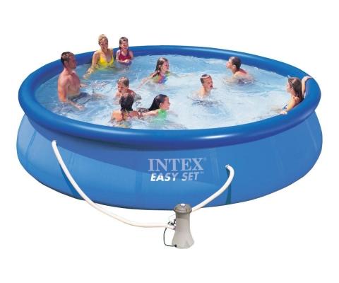 Бассейн надувной Intex Easy Set с фильтром-насосом 457x91 см (56412)