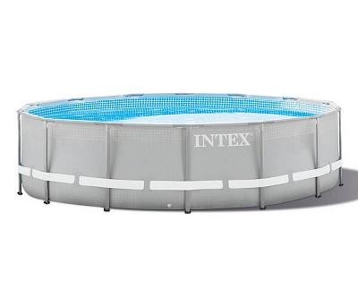 Каркасный бассейн Intex Prism Frame 305x76 см, 4485 л, фильтр-насос.26702