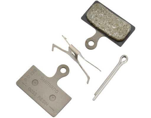 Колодки тормозные Shimano G03S для дисковых тормозов, полимерные