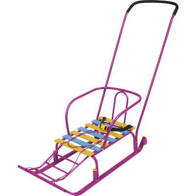 Санки Nika Тимка 5 Комфорт (фиолетовые)