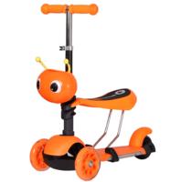 Самокат Ausini 4109B 3 в 1 (оранжевый)