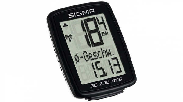 Велокомпьютер Sigma BC 7.16 ATS (БЕСПРОВОДНОЙ)