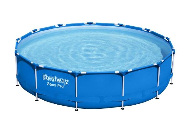 Каркасный бассейн с фильтром-насосом Bestway 396х84см (5612E)