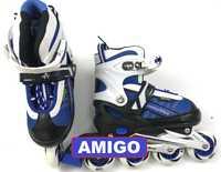 Роликовые коньки Ausini Amigo 203 (синие)