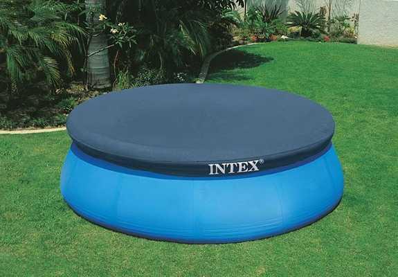 Тент-чехол для бассейнов Intex Easy Set 396см (выступ 30см)