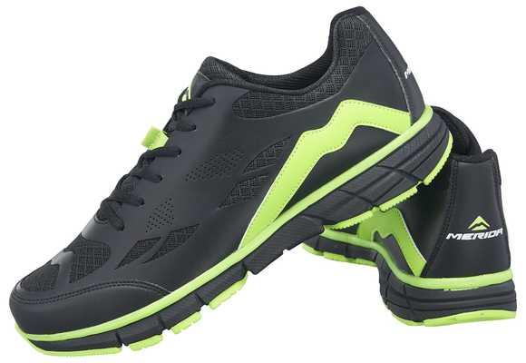 Велообувь Merida Comp TR (Black/Green)