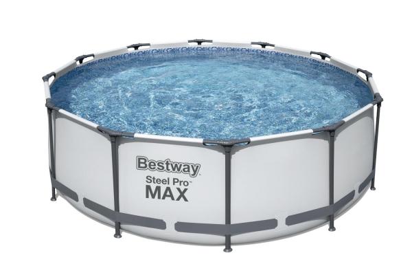 Бассейн каркасный с фильтр-насосом BestWay 366х100 (56418)