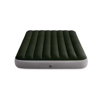 Надувной матрас Intex Prestige Downy Bed, 152х203х25см, насос на батарейках в комплекте