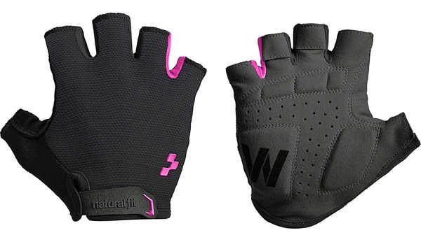 Велоперчатки Cube Natural Fit WLS Bike Glove black/pink
