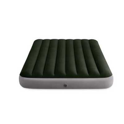 Надувной матрас Intex Prestige Downy Bed, 137х191х25см, насос на батарейках в комплекте