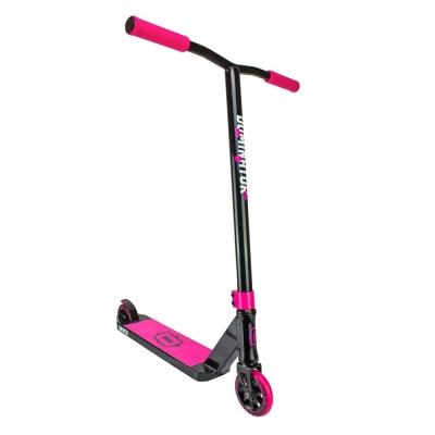 Трюковой самокат Dominator SNIPER (Черный/розовый)