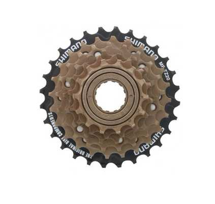 Трещетка Shimano MF-TZ20 6 speed, 14-28T
