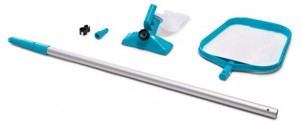 Комплект для очистки бассейна INTEX с выдвижной рукояткой (28002)