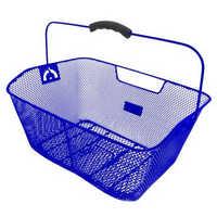 Корзина  M-WAVE на багажник (синяя)