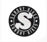 Стикер Sunday S Logo Vinyl