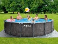 Каркасный Бассейн INTEX Greywood Prism Frame Premium 26742 (457х122)