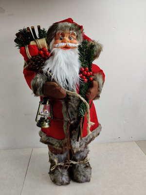 Новогоднее украшение Ausini ДЕД МОРОЗ (65 см)