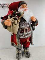 Новогоднее украшение Ausini ДЕД МОРОЗ (выс. 65 см)