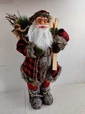 Новогоднее украшение Ausini ДЕД МОРОЗ ( высота 65 см)